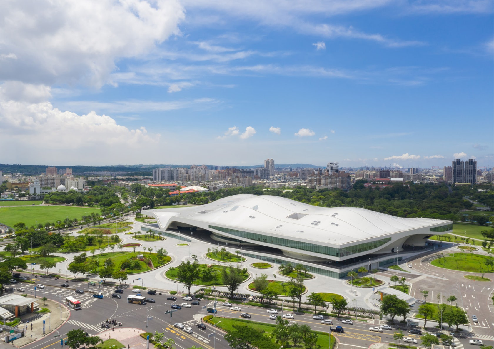 National Kaohsiung Center for the Arts Mecanoo Iwan Baan