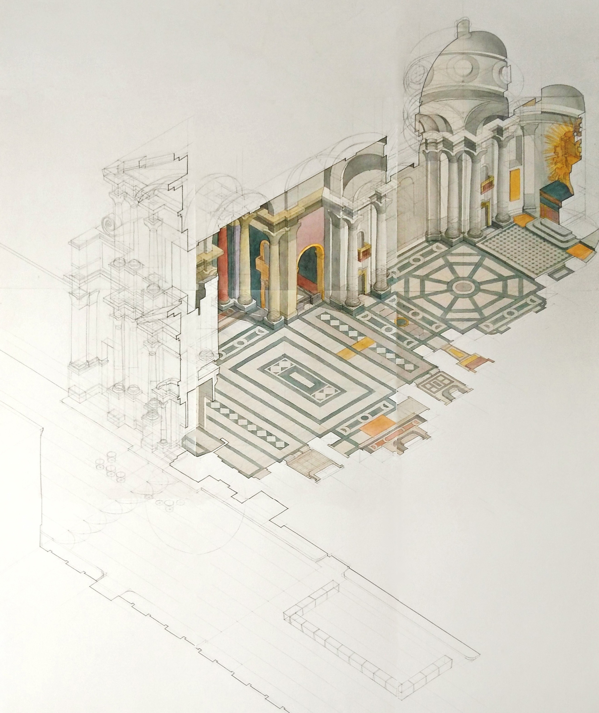 architecture school drawing