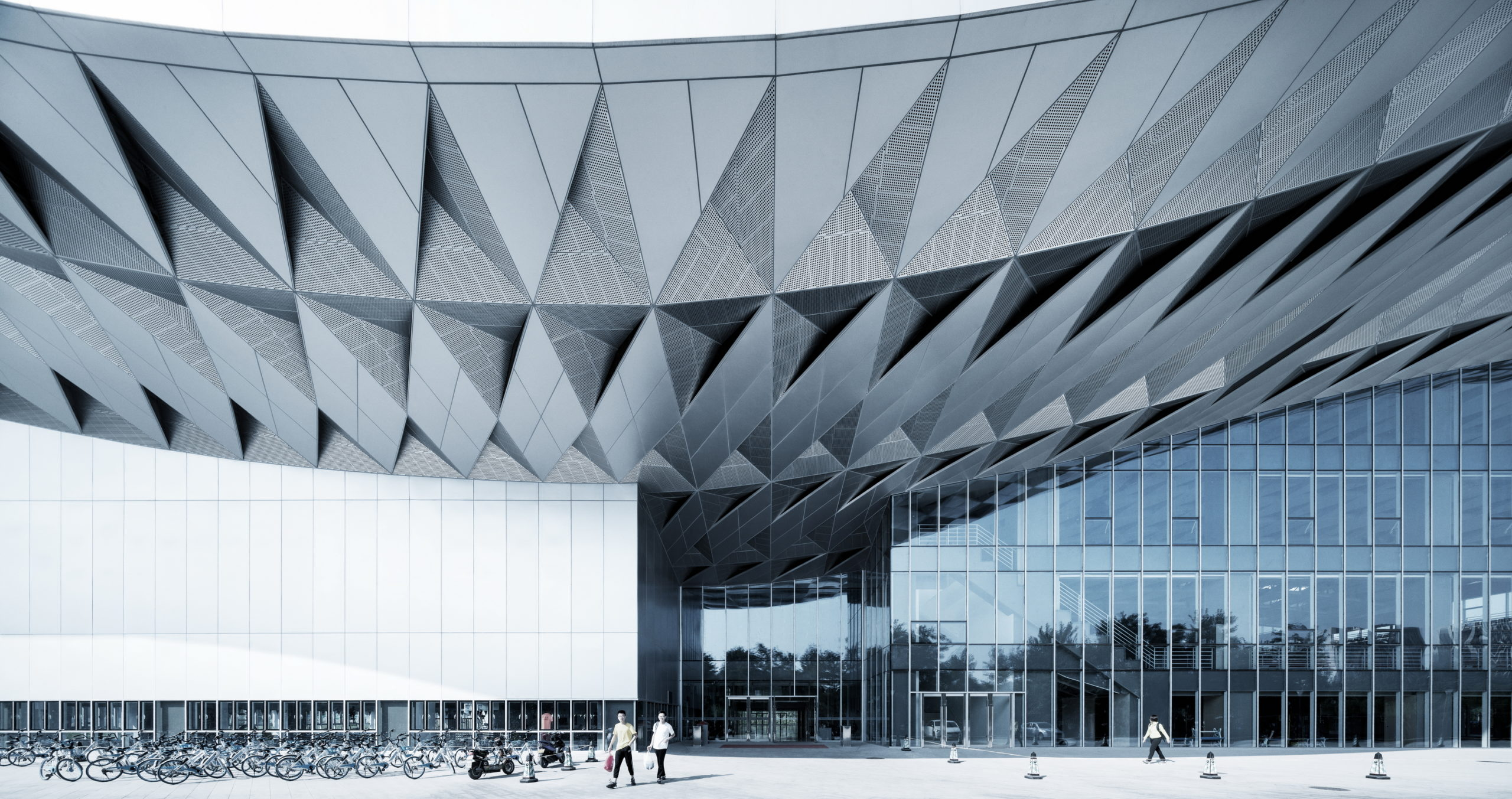 BIT Sports Center in Beijing by Atelier Alter Architects, Beijing, China