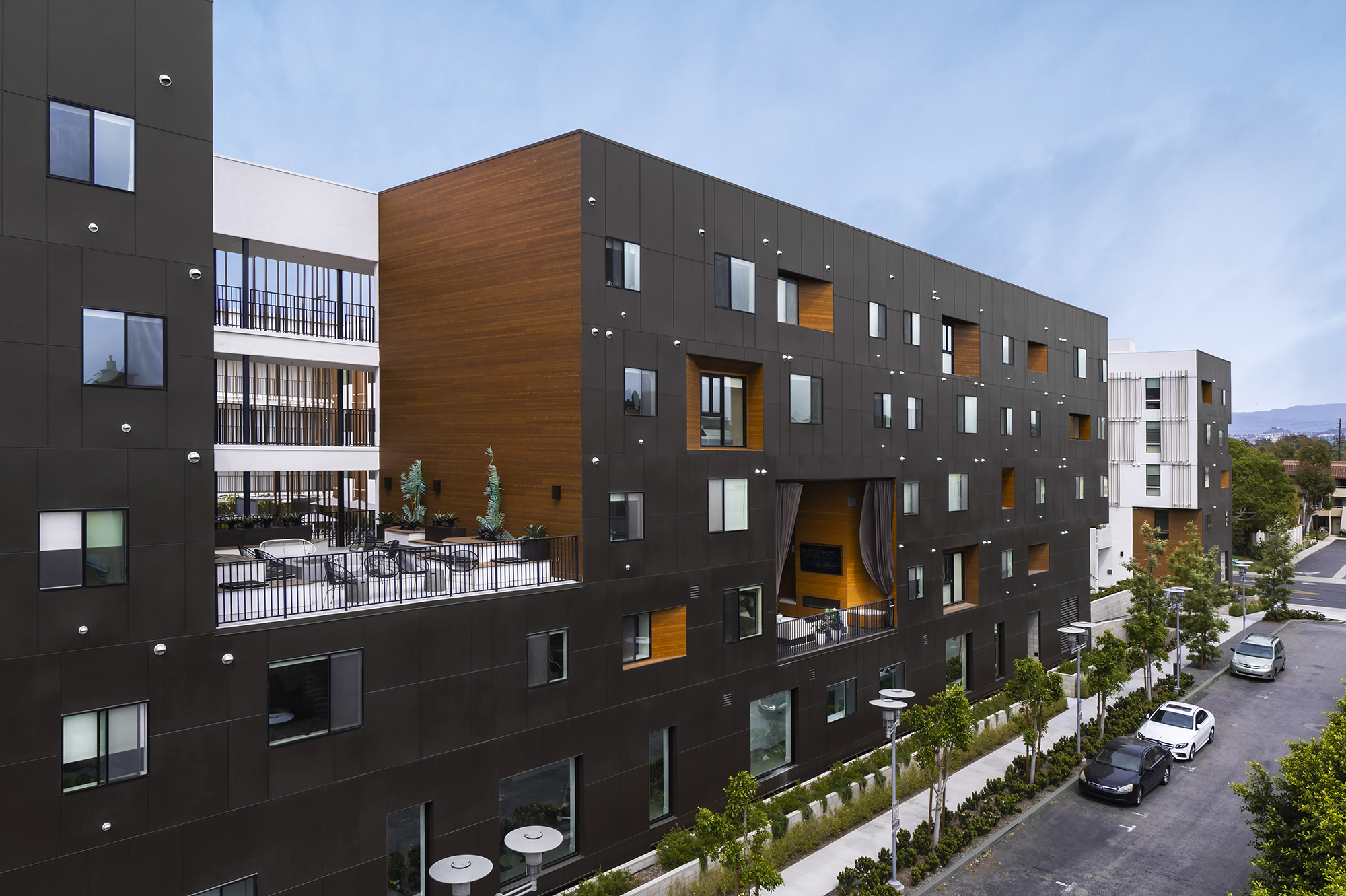 Connecting with Cutouts Jeanette301 by Lorcan O'Herlihy Architects [LOHA], Santa Ana, CA, United States