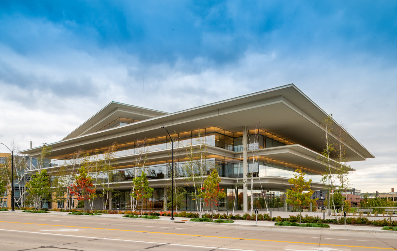 Krause Gateway Center by OPN Architects, Des Moines, IA