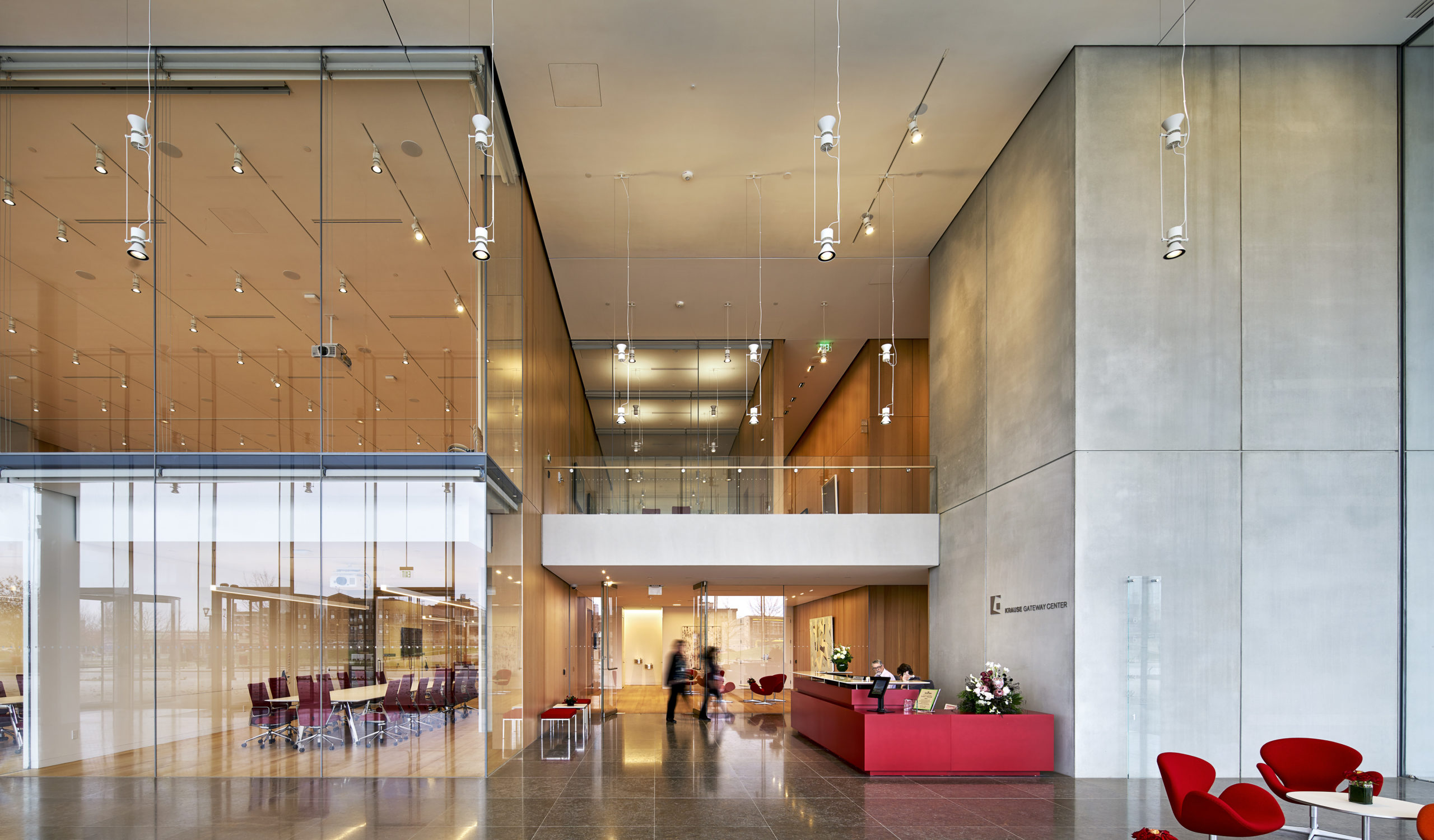 breathtaking workspaces Krause Gateway Center by OPN Architects, Des Moines, IA
