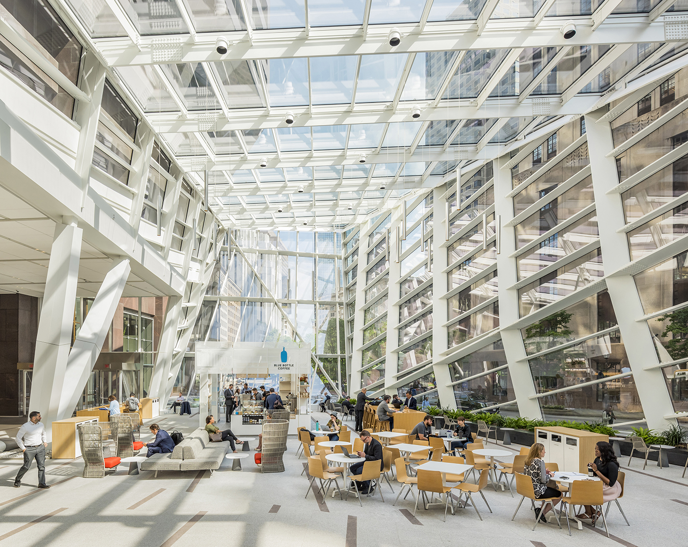 breathtaking workspaces The Exchange at 100 Federal by Perkins and Will, Boston, MA