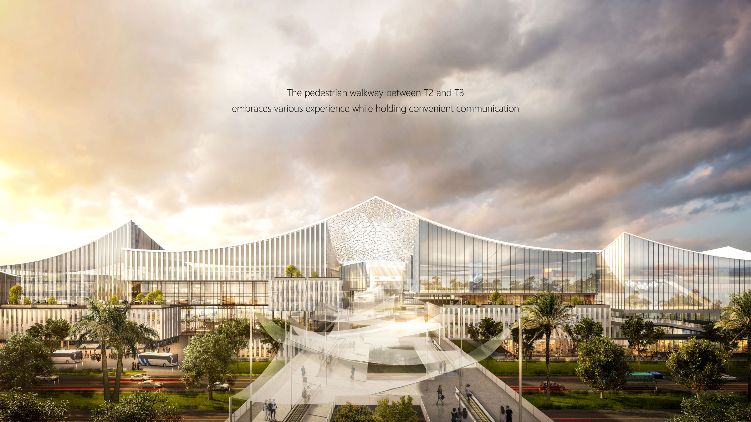 Comprehensive Development of Central Area at Xiamen New Airport by East China Architectural Design & Research Institute, Xiamen, China