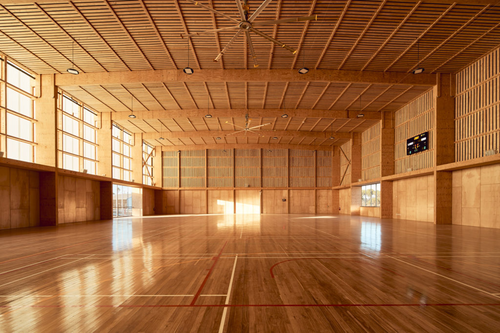 architectural material Pingelly Recreation and Cultural Centre by Iredale Pedersen Hook Architects with ATC Studio, Pingelly, Australia