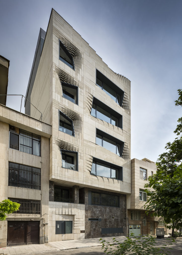architectural material SOFTSTONE by SETUParchitecture, Tehran, Iran