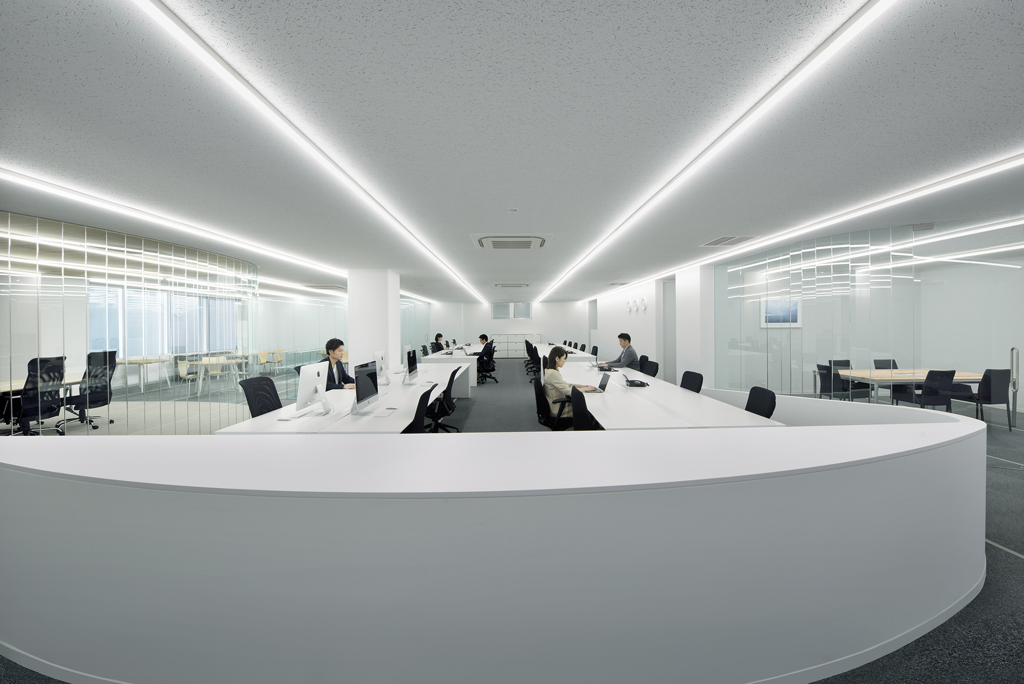 job security TBM OFFICE by Clouds Architecture Office, Tokyo, Japan
