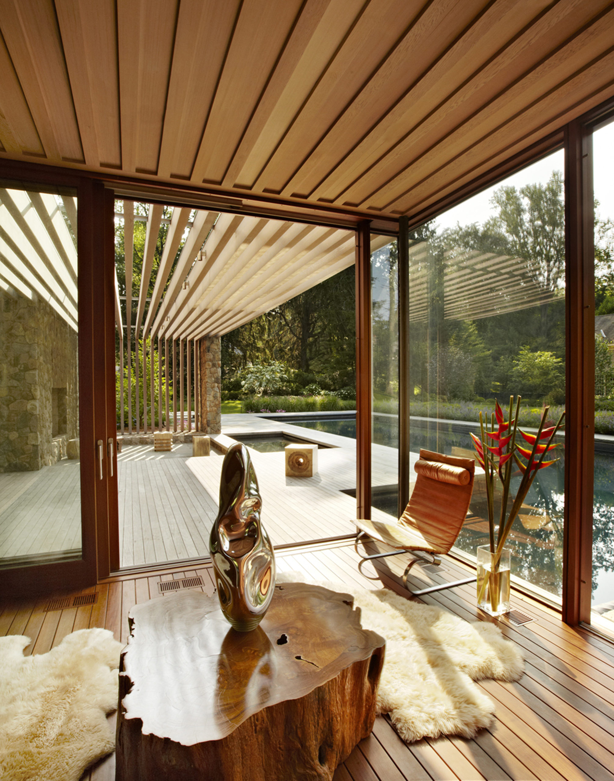 swimming pool architecture Westport Poolhouse